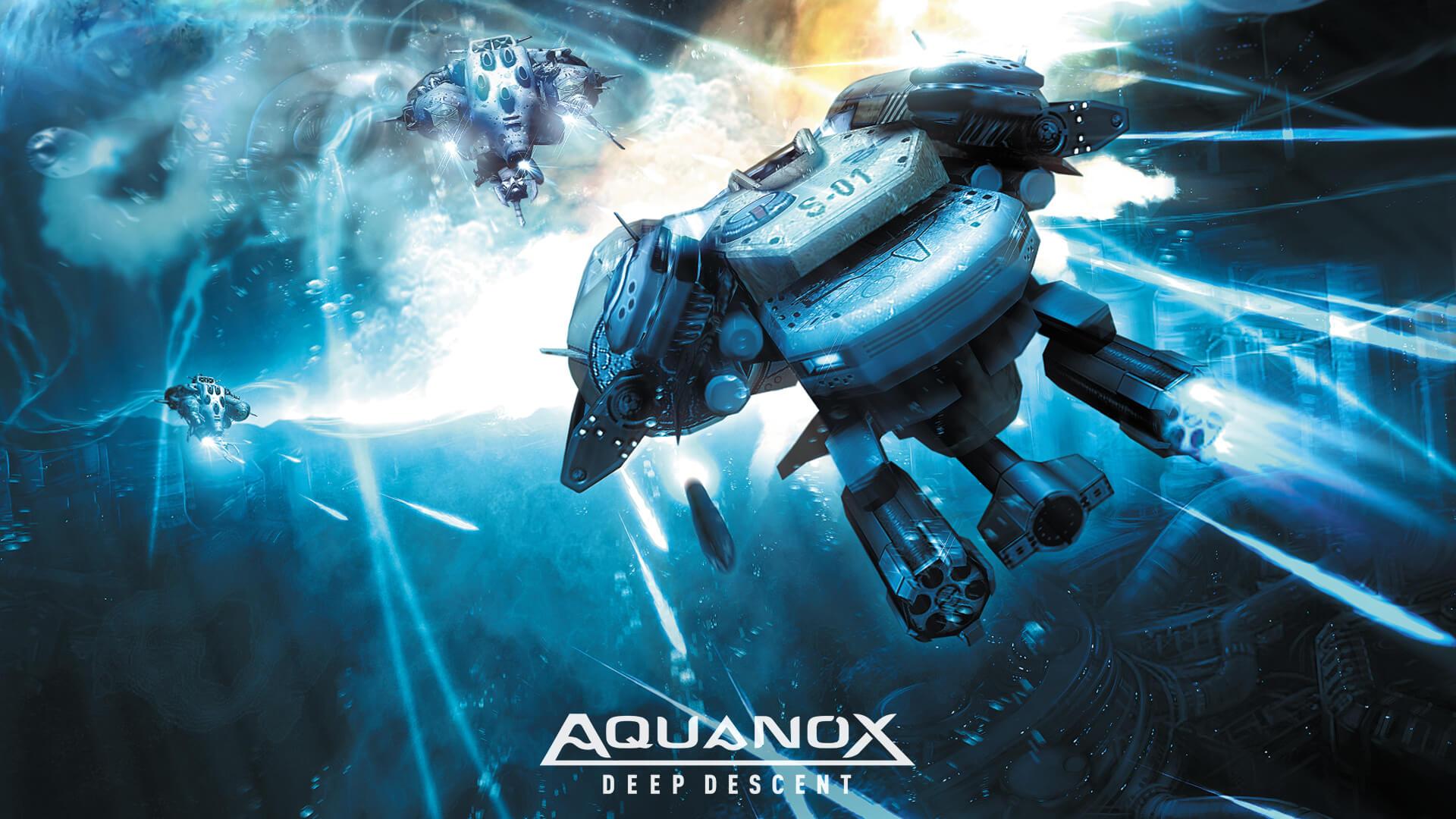 Aquanox Deep Descent – Official Website